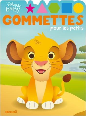Disney Baby – Gommettes pour les petits – Simba- Livre de gommettes – Dès 4 ans