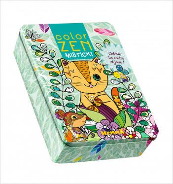 Color Zen - Mistigri - Jeu de cartes à colorier - dès 5 ans
