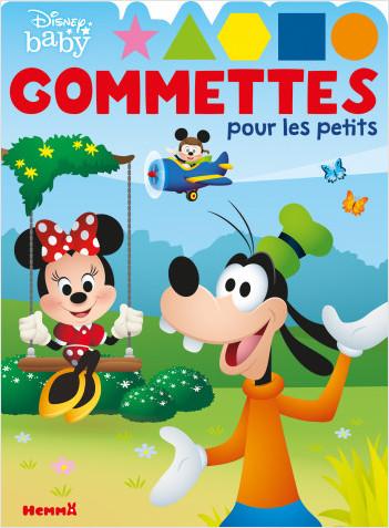 Disney Baby – Gommettes pour les petits (Dingo, Minnie et Mickey) - Livre de gommettes – Dès 4 ans