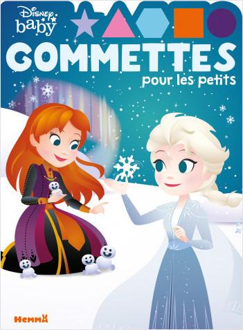 Disney Baby – Gommettes pour les petits - Livre de gommettes – Dès 4 ans
