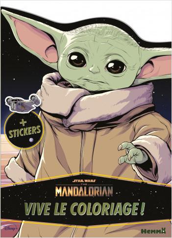 Disney Star Wars The Mandalorian  – Vive le coloriage ! – Livre de coloriage avec stickers – Dès 4 ans