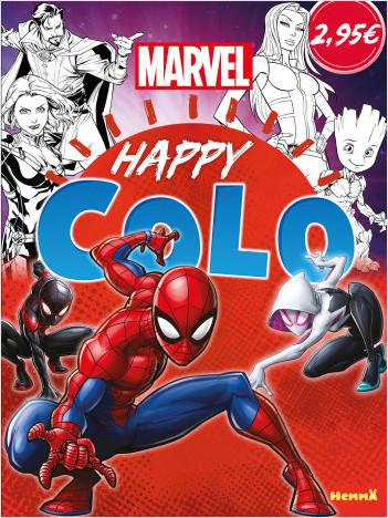 Marvel – Happy Colo – Livre de coloriage – Dès 5 ans