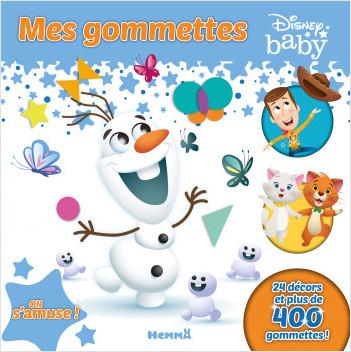Disney Baby - Mes gommettes - On s'amuse ! - Livre de gommettes - Dès 3 ans