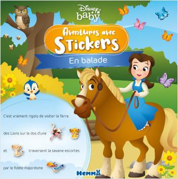 Disney Baby – Aventures avec stickers – En balade – Livre d'histoires avec stickers – Dès 3 ans