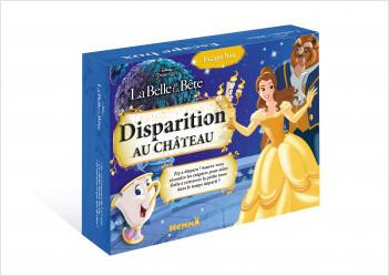 Disney La Belle et la Bête - Escape Box - Disparition au château  - Escape game enfant - Dès 5 ans