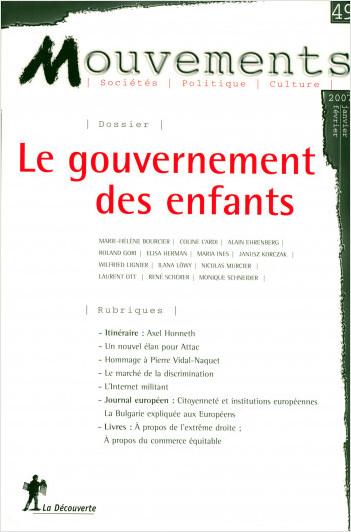 Le gouvernement des enfants