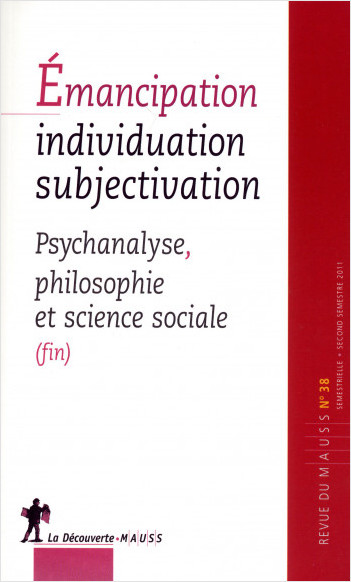 Émancipation, individuation, subjectivation