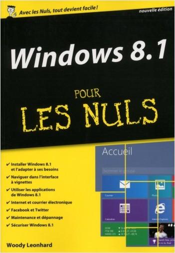 Windows 8.1 pour les Nuls MégaPoche