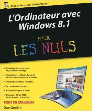L'Ordinateur avec Windows 8.1 pour les Nuls