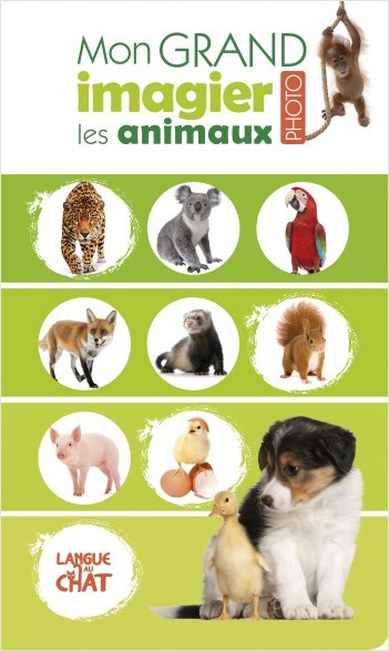 Les animaux - Mon grand imagier photo