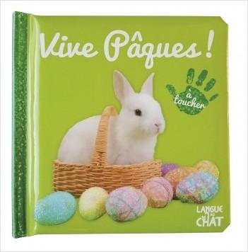 Bébé touche-à-tout - Vive Pâques !