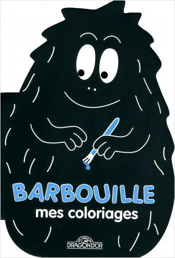 Barbapapa - Coloriage forme Barbouille