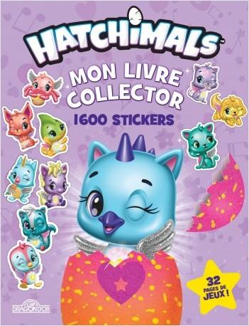 Hatchimals - Mon livre collector 1600 stickers