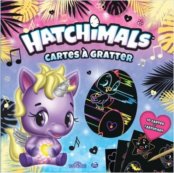 Hatchimals - Cartes à gratter