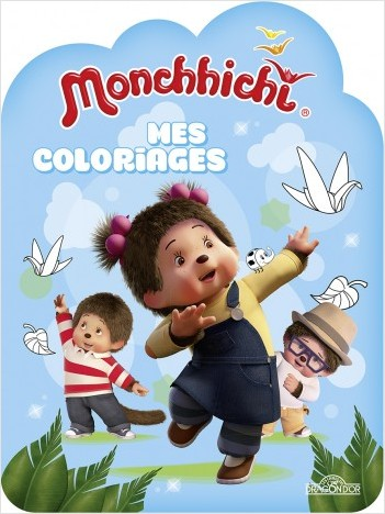 Monchhichi - Mes coloriages