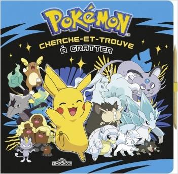 Pokémon - Cherche-et-trouve à gratter