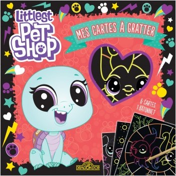 Littlest Pet Shop - Mes cartes à gratter (Bev)