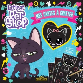 Littlest Pet Shop - Mes cartes à gratter (Jade)