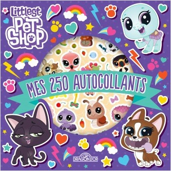 Littlest Pet Shop - Mes 250 autocollants