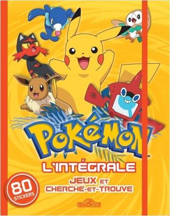 Pokémon - L'intégrale Jeux et cherche-et-trouve