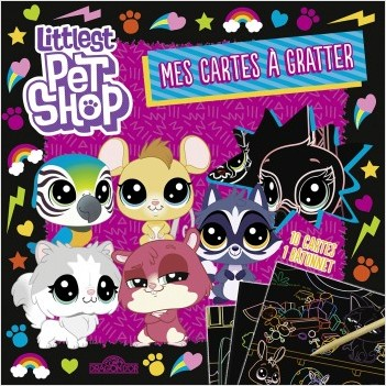 Littlest Pet Shop - Mes cartes à gratter - violette