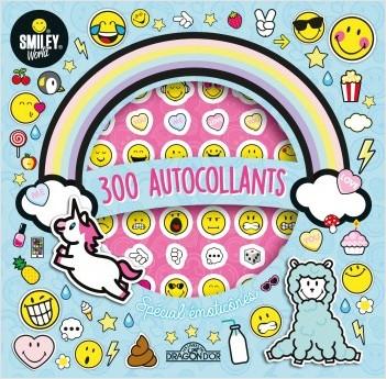 Smiley - Mes 300 autocollants spécial émoticônes