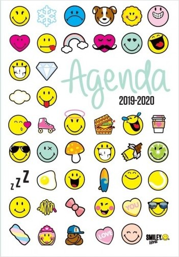 Smiley - Agenda émoticônes 2019-2020