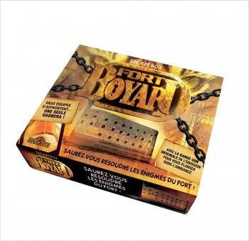 Fort Boyard - Escape box - Escape game enfant de 2 à 6 joueurs - Dès 8 ans