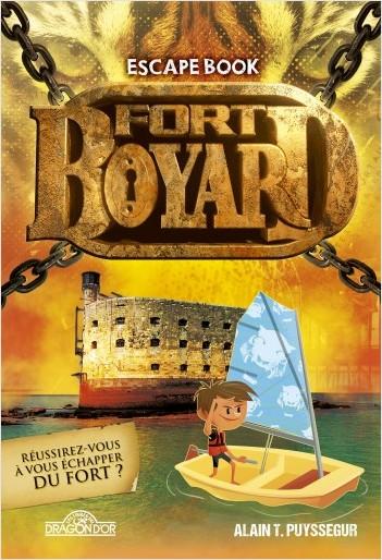 Fort Boyard - Escape Book - Livre-jeu avec énigmes - Dès 8 ans