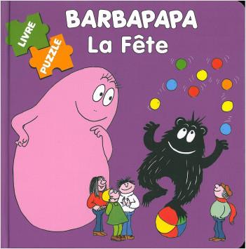 Barbapapa  Puzzle - La fête