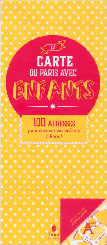 La carte du Paris des enfants