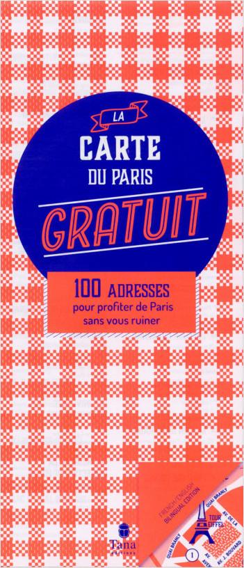 La carte du Paris gratuit