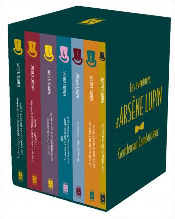 Coffret Arsène Lupin 7 titres